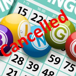 """""""Rome'n Seniors"""" & Leos on the Go"""" ~ BINGO cancelled until further notice."""