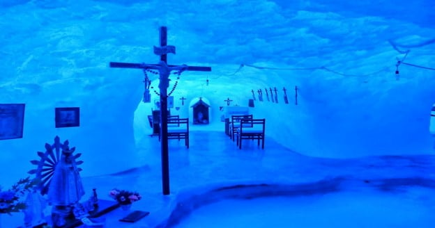 Chapel of Our Lady of the Snows, Belgrano II Base, Antarctica